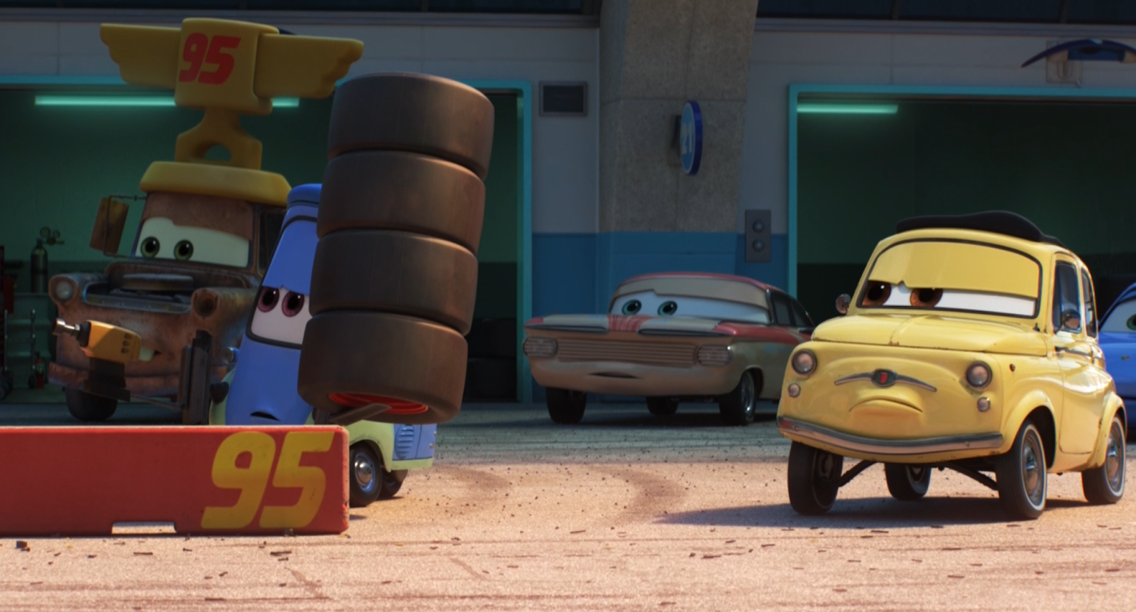 pixar cars florida ramone screenshot