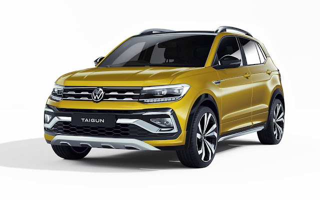Volkswagen Taigun: SUV derivado do T-Cross para Índia