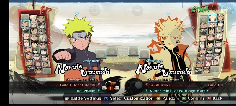 Naruto Shippuden Ultimate Ninja Storm 4 mobile Apk+ Data for Android & iOS