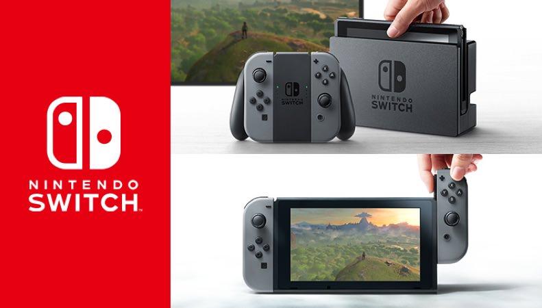 Nintendo Perkenalkan Keluarga Baru Bernama 'Nintendo Switch'