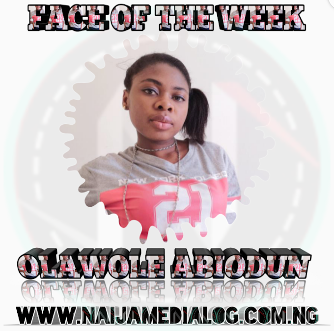 Face of the week: Olawole Abiodun - Naijamedialog