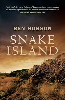 Snake Island by Ben Hobson book cover