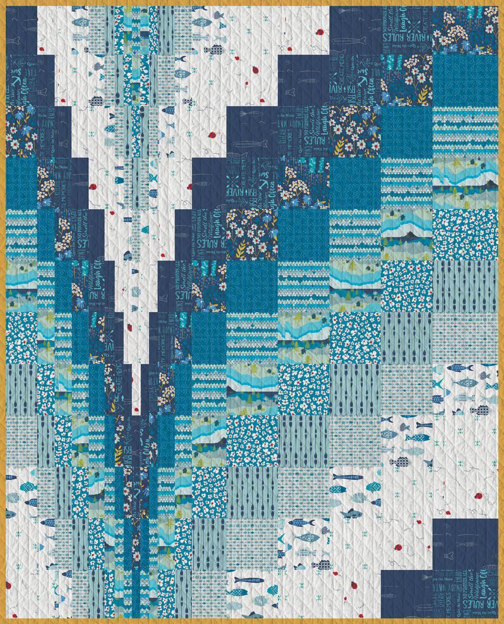 Free Bargello Quilt Patterns : bargello, quilt, patterns, Quilt, Inspiration:, Pattern, Bargello, Quilts