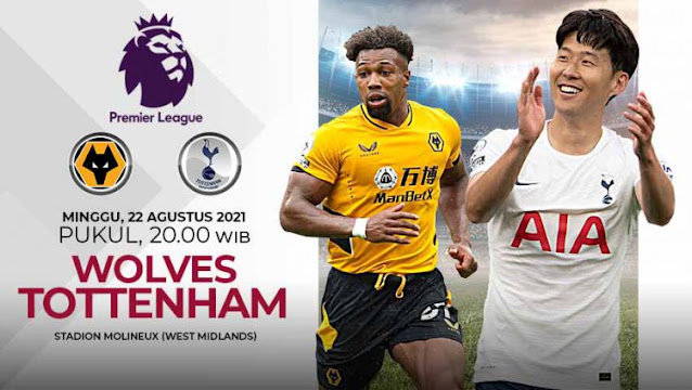 Link Live Streaming Wolverhampton vs Tottenham