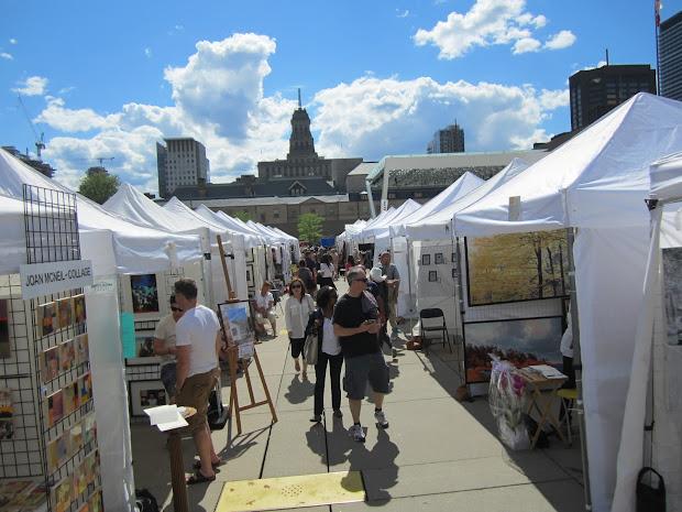 Toronto Outdoor Art Exhibit Month