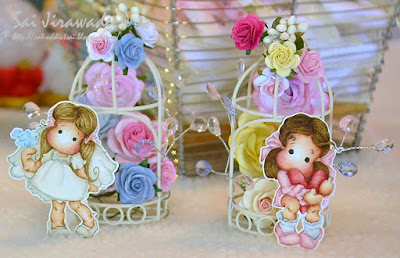Magnolia Birdcage Wedding Decoration