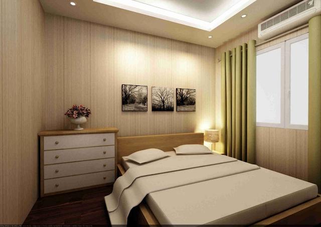 Phòng ngủ rộng bao nhiêu là hợp lý