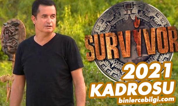Survivor 2021 kadrosu, yarışmacıları kimler? ne zaman başlıyor? Acun Medya Survivor 2021 ünlüler ve gönüllüler takımı yarışmacıları kim kimdir? yeni yarışmacılar hakkında bilgi.