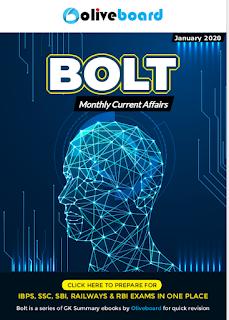 BOLT JANUARY  2020 - Monthly Magazine