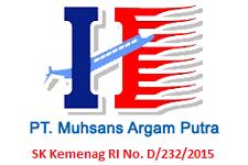 Travel Umroh Murah Jakarta MAP Tour Indonesia Logo