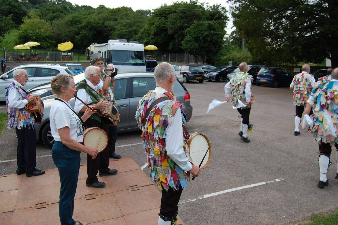 Playing for Morris dance