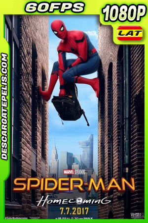 Spider-Man: De regreso a casa (2017) 1080p 60fps BDrip Latino – Ingles