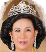 gandik diraja diamond tiara malaysia queen haminah kedah