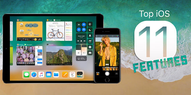 iOS 11 Features For iPhone, iPad, iPod [Infographic]