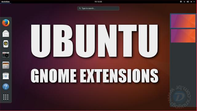 Ubuntu Gnome Extensions