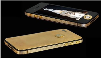 Stuart Hughes iPhone 4s Elite Gold