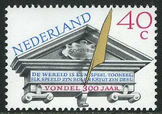 Netherlands Joost van den Vondel, Dutch poet and dramatist, 1979