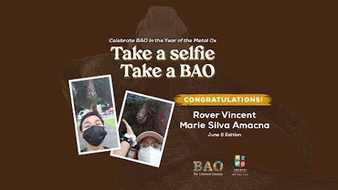 "June 8 Winner ""Take a Selfie, Take a BAO"""