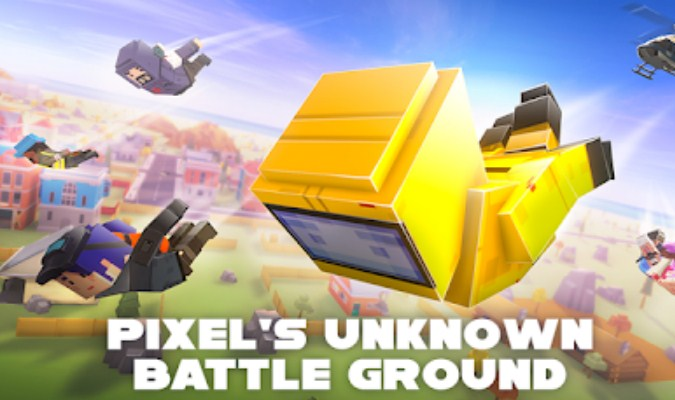 Game Battle Royale - Pixel's Unknown Battle Ground