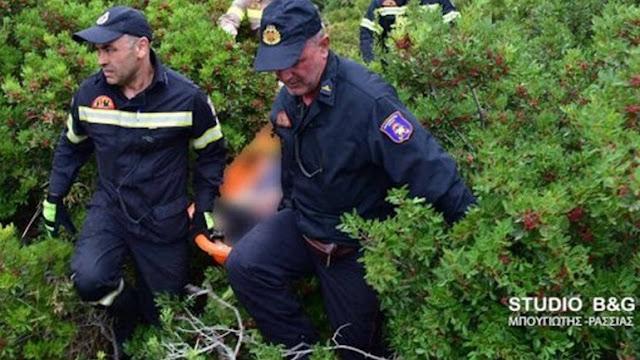 Ολοκληρώθηκε η πολύωρη επιχείρηση στην ορεινή Αργολίδα για την μεταφορά του τραυματία κυνηγού