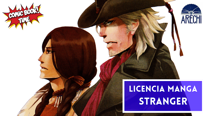 "Licencia manga: Arechi Manga licencia ""Stranger"" de Kuku Hayate"