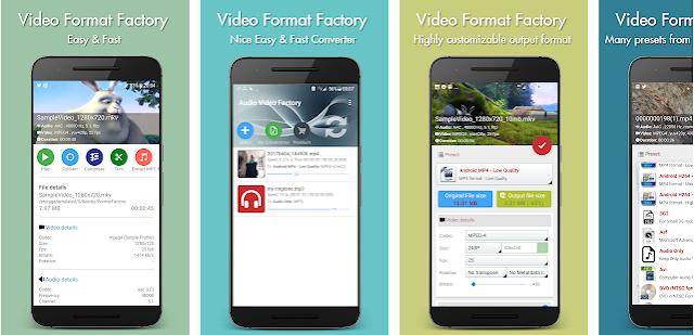 Cara Konverter Video dengan Aplikasi Format Factory Android