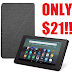 EXPIRED!! AMAZON GLITCH!! 32GB Fire 7 Tablet + Standing Case Only $21.99 (Reg $94) - Amazon Prime Member Deal