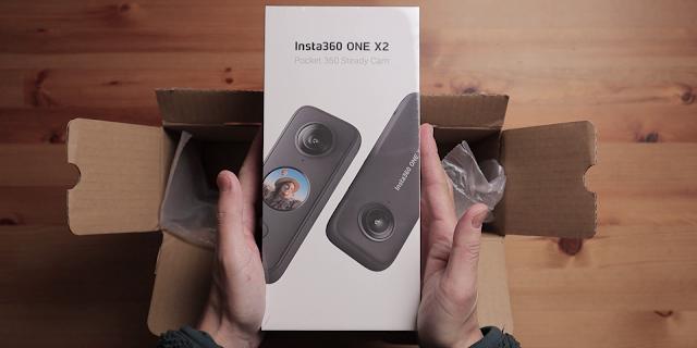 Insta360 ONE X2 開箱