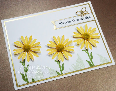 Heart's Delight Cards, Daisy Lane, Daisy Lane Bundle, Medium Daisy Punch, 2019-2020 Annual Catalog, Stampin' Up!