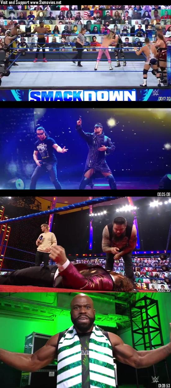 WWE Friday Night Smackdown 02 April 2021 HDTV 720p 480p 300MB