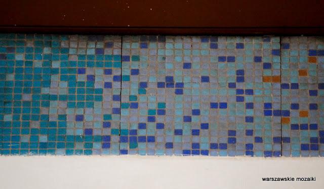 Ochota Warsaw warszawskie mozaiki 1980