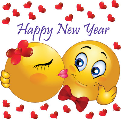 new year love emoji