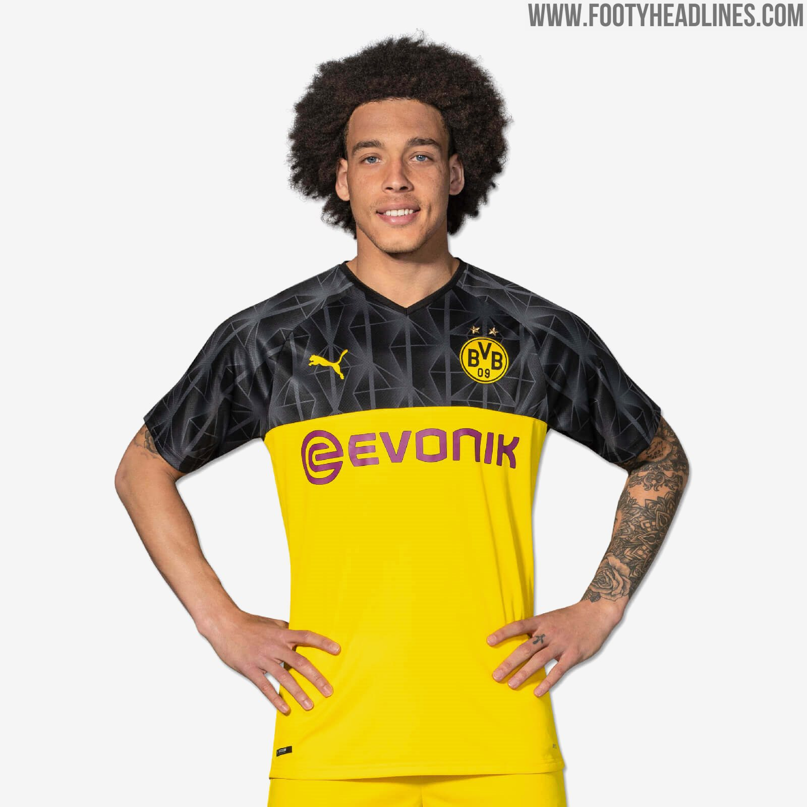 new concept caf34 79122 Borussia Dortmund 19-20 Champions League Kit Released ...