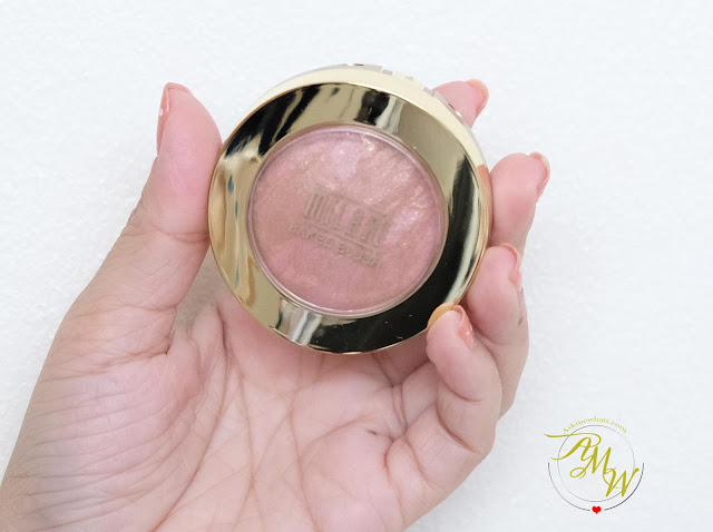 a photo of Milani Baked Blush in Berry Amore Review