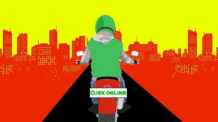 Seorang Driver Ojol di Makassar Ditikam Pengendara Mobil