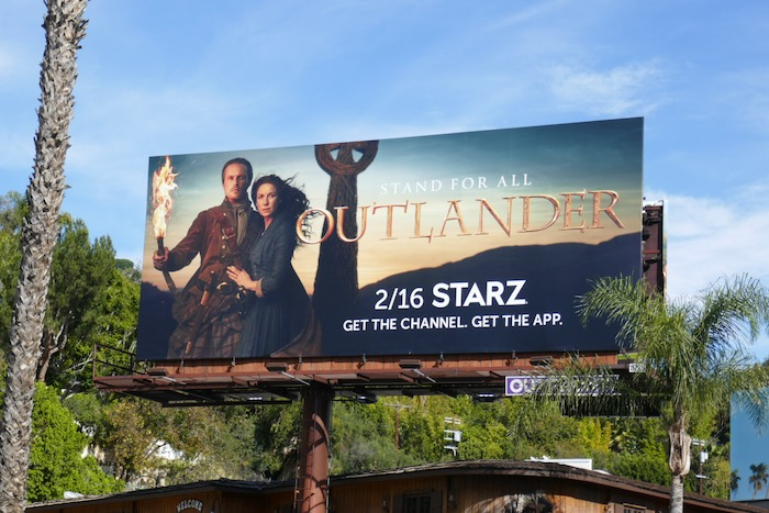 Outlander season 6 billboard