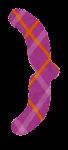 波括弧のイラスト文字(右)