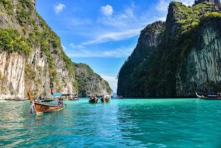november honeymoon phi phi island