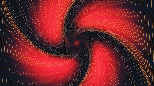 black_red_hyphen_swirl_4k_hd_abstract