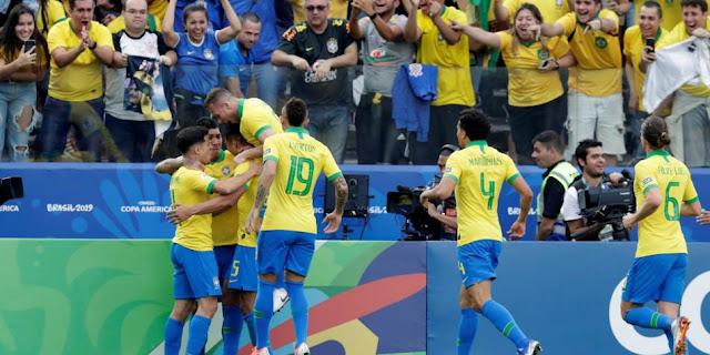 Brasil campeón de la copa américa: Derrotó a perú 3-1