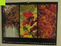 Oktober: Laurent Pinsard 2016 - Triplets Posterkalender Naturkalender quer - 64 x 48 cm