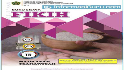Download/Unduh Buku Fikih MTs Semua Kelas ( 7,8,9) Sesuai KMA No 183 Tahun 2019 Tentang Kurikulum PAI dan Bahasa Arab Pada Madrasah