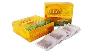 Jual KLink Golden Valley Minuman Herbal Serbuk Rooibos