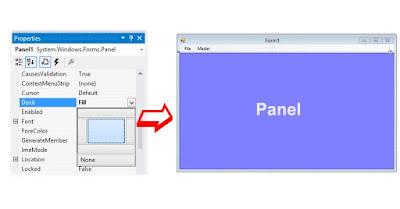 Membuat Form Menu Dengan Panel dan Menu MDI