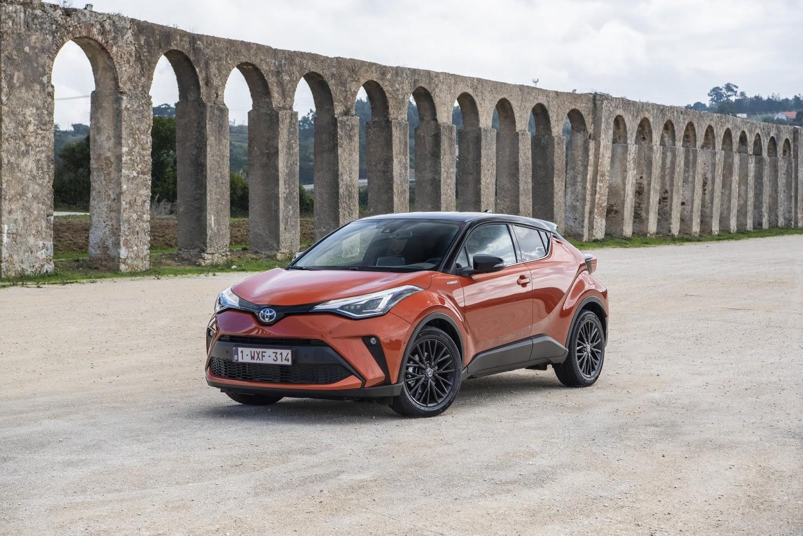 El renovado Toyota C-HR 2020 aterriza en España