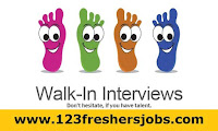 Today's Verified Walk-ins For Freshers