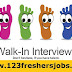 Today and Tomorrow Freshers Walk-ins At Various Locations.