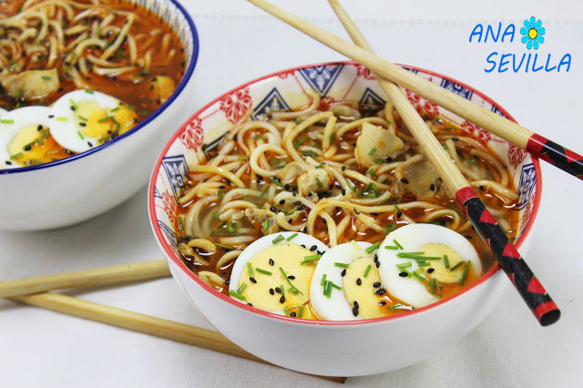 Image Result For Receta De Ramen Pollo