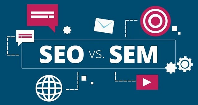 difference between seo and sem search engine optimization vs ppc marketing