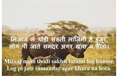 Attitude Shayari, Attitude Shayari in Hindi